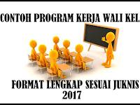 Download Contoh Program Kerja Wali Kelas Tahun 2017 Sesuai Juknis Terbaru