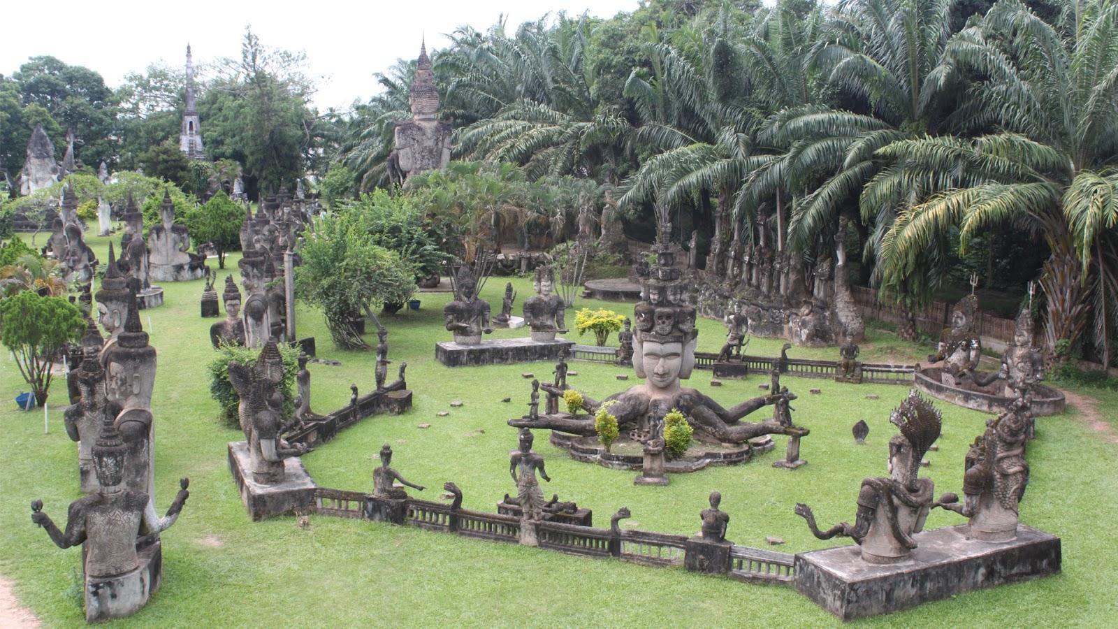 Kết quả hình ảnh cho Vườn Tượng Phật