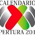 Calendario Apertura 2017 completo