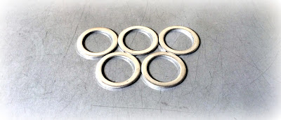 Custom/special stainless steel flat washer (narrow) - Engineered Source is a supplier and distributor of special and custom flat washers - covering Santa Ana, Orange County, Los Angeles, Inland Empire, California, United States