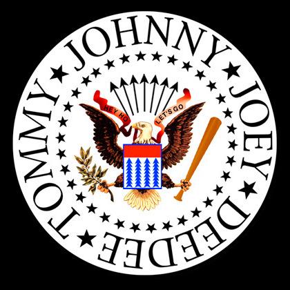 Logotipo de los Ramones