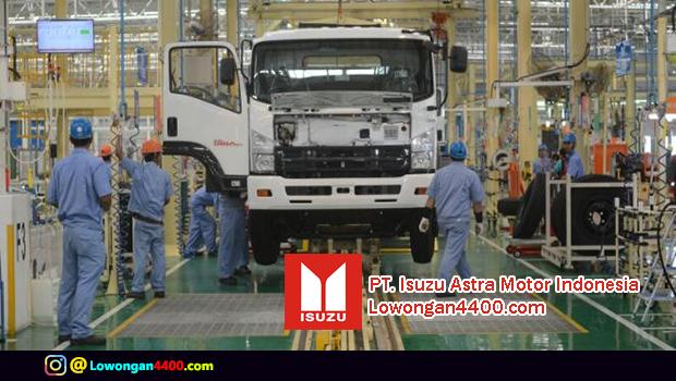 Lowongan Kerja PT. Isuzu Astra Motor Indonesia Plant Karawang