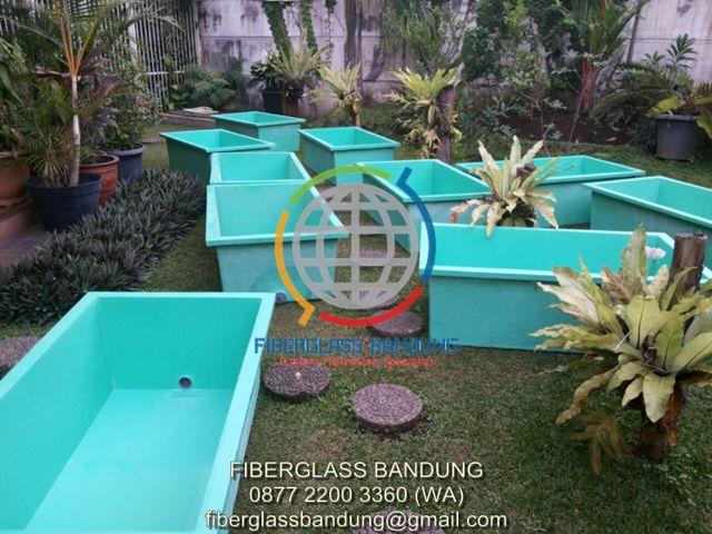 kolam fiber hidroponic