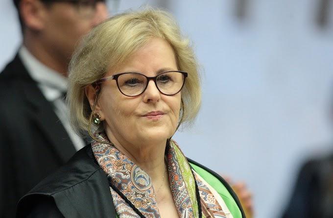ROSA WEBER TOMA POSSE COMO PRESIDENTE DO TSE