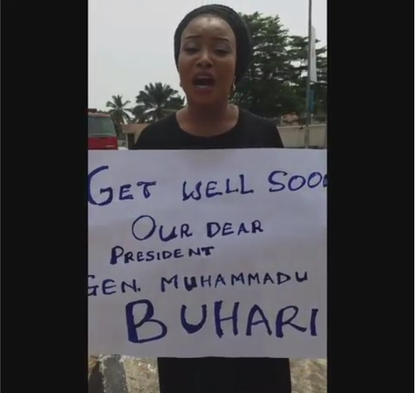 Lizzy Anjorin roots for Buhari