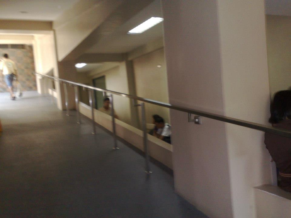 Nazareth Hospital Ramp Railing