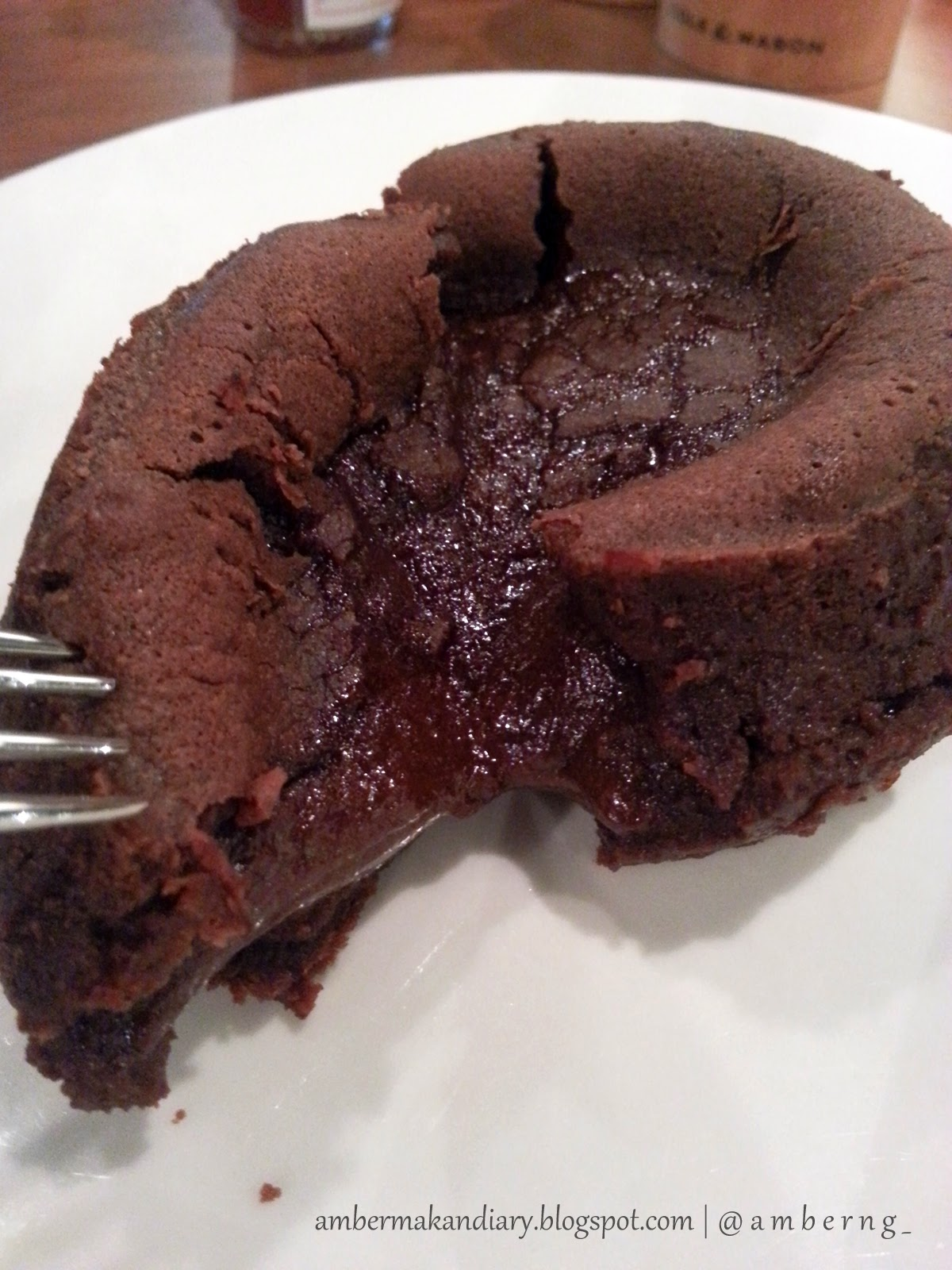 Chocolate Lava Cake - $6.80