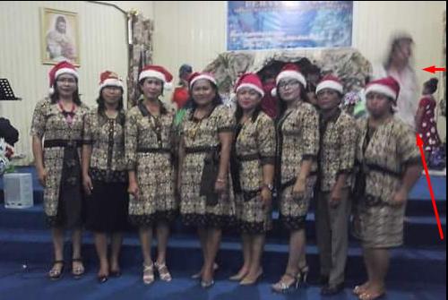 Bukan rekayasa, Saat natal Yesus nampakkan diri, Cek disini