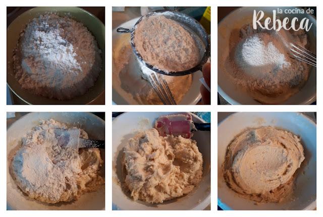 Receta de pastas de té de chocolate, naranja y avellana: la masa 02