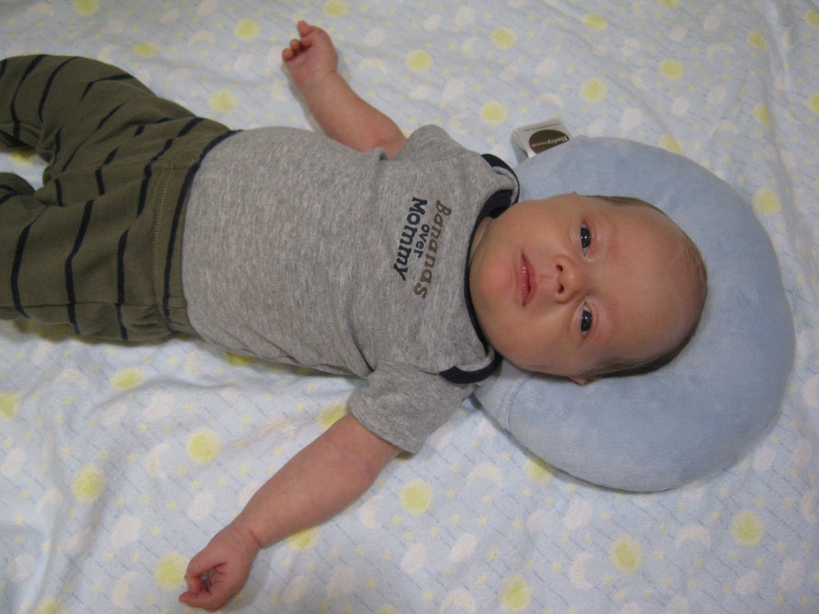 Au Natural Baby Baby Moon Pillow Giveaway And Review