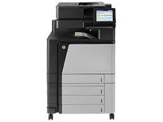 Picture HP Color LaserJet Enterprise flow MFP M880z Printer