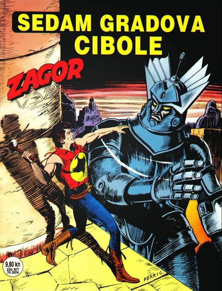 Sedam gradova Cibole - Zagor