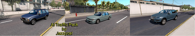 ats ai traffic pack v5.7 screenshots 1, GMC Jimmy, Mitsubishi Galant, Volkswagen Touareg