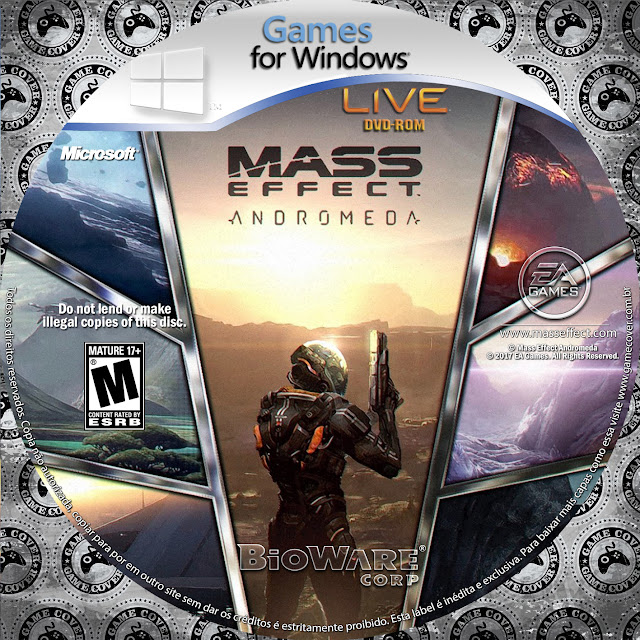 Label Mass Effect Andromeda PC [Exclusiva]