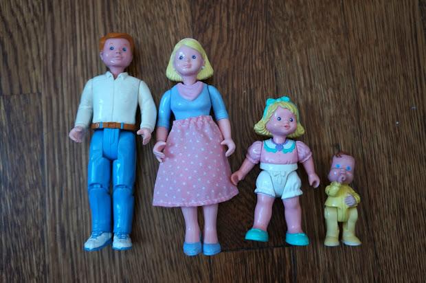 Fisher-Price Loving Family Dolls