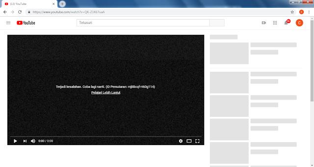 Youtube Down dan Tidak Bisa Diakses di Berbagai Negara