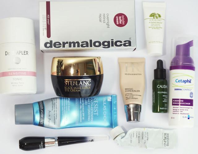 Aufgebrauchte Kosmetik - April/Mai 2017 Paulas Choice, Mizon, Lancome, Rimpler, Gesichtspflege, Beauty, Empties