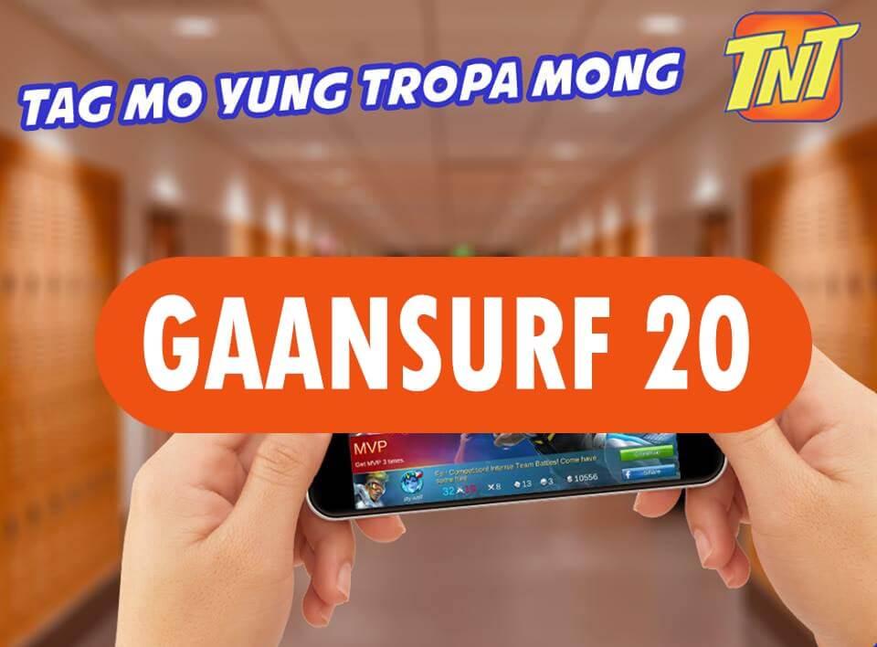 TNT Gaansurf 20