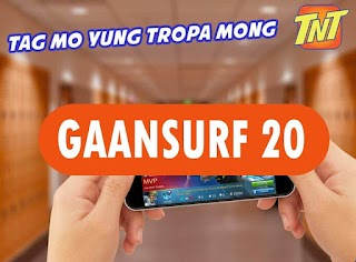 TNT Gaansurf 20 – 3 days Internet access with 200MB data + YouTube