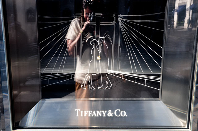 Tiffany Romance Shop Windows