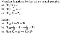 contoh soal logaritma dan pembahasannya
