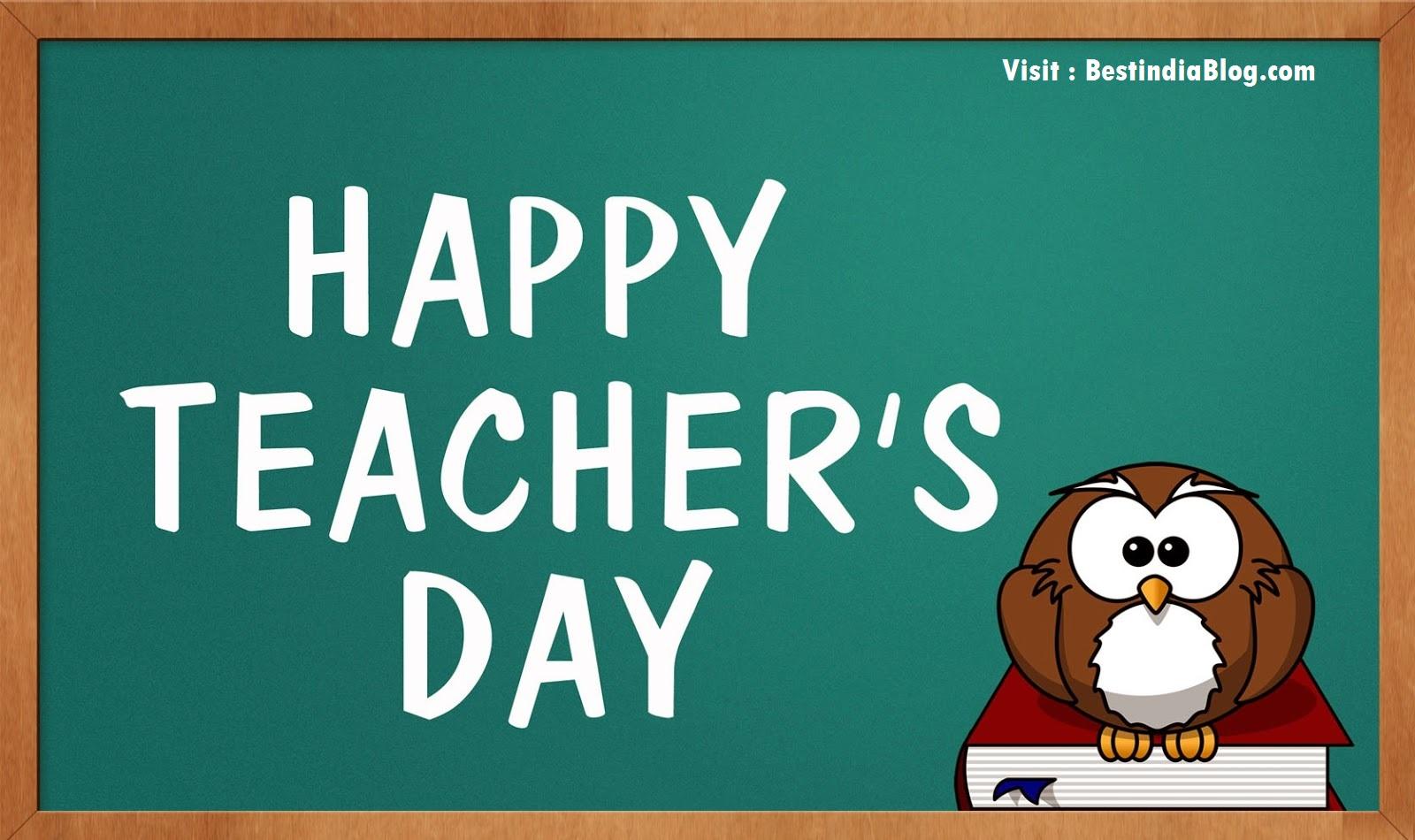 Short essay on The Teacher's Day