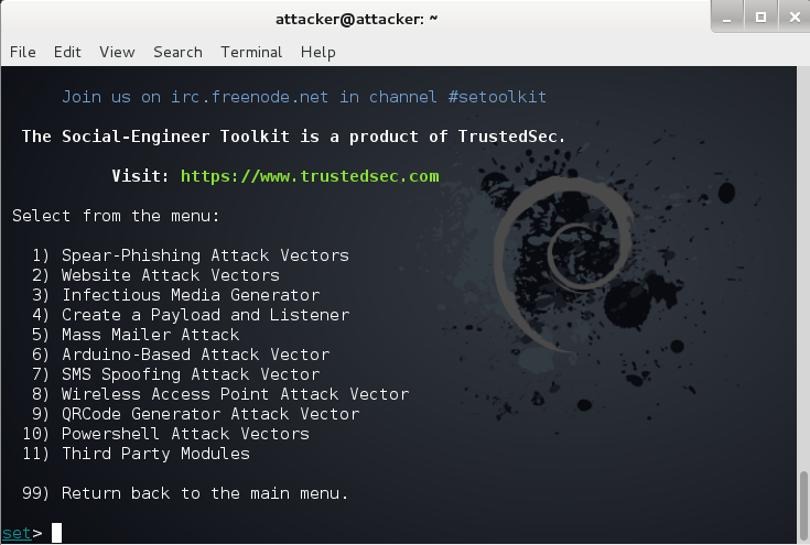 Social Engineering Toolkit - Kali Linux - Simple Tutorial