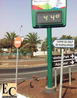 Fin de alerta por máximas temperaturas en Canarias 7 agosto