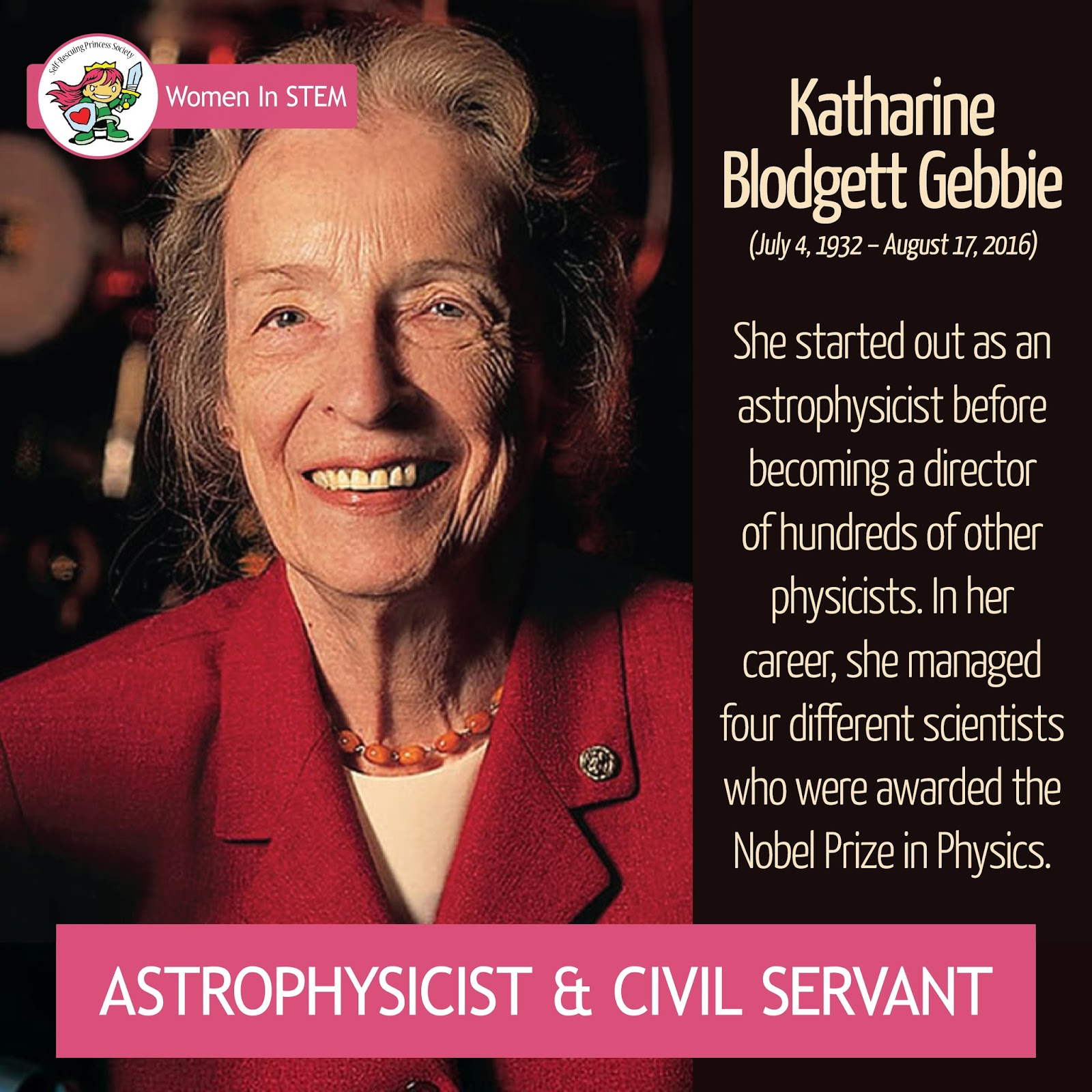 As A Child She Was Inspired By Her Famous Aunt And Namesake Katharine Burr Blodgett Who The First Woman To Earn PhD From University Of