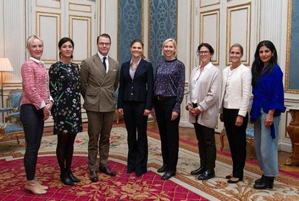 Lena Green, Nahal Illerstig, Pernilla Bard, Dilsa Demirbag-Sten, Elin Annwall and Golnaz Hashemzadeh Bonde