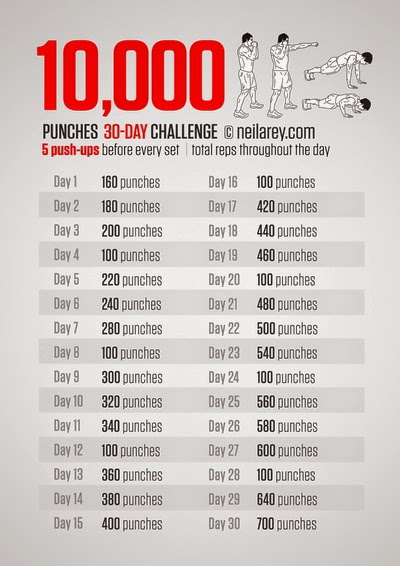 30-DAY FITNESS CHALLENGES