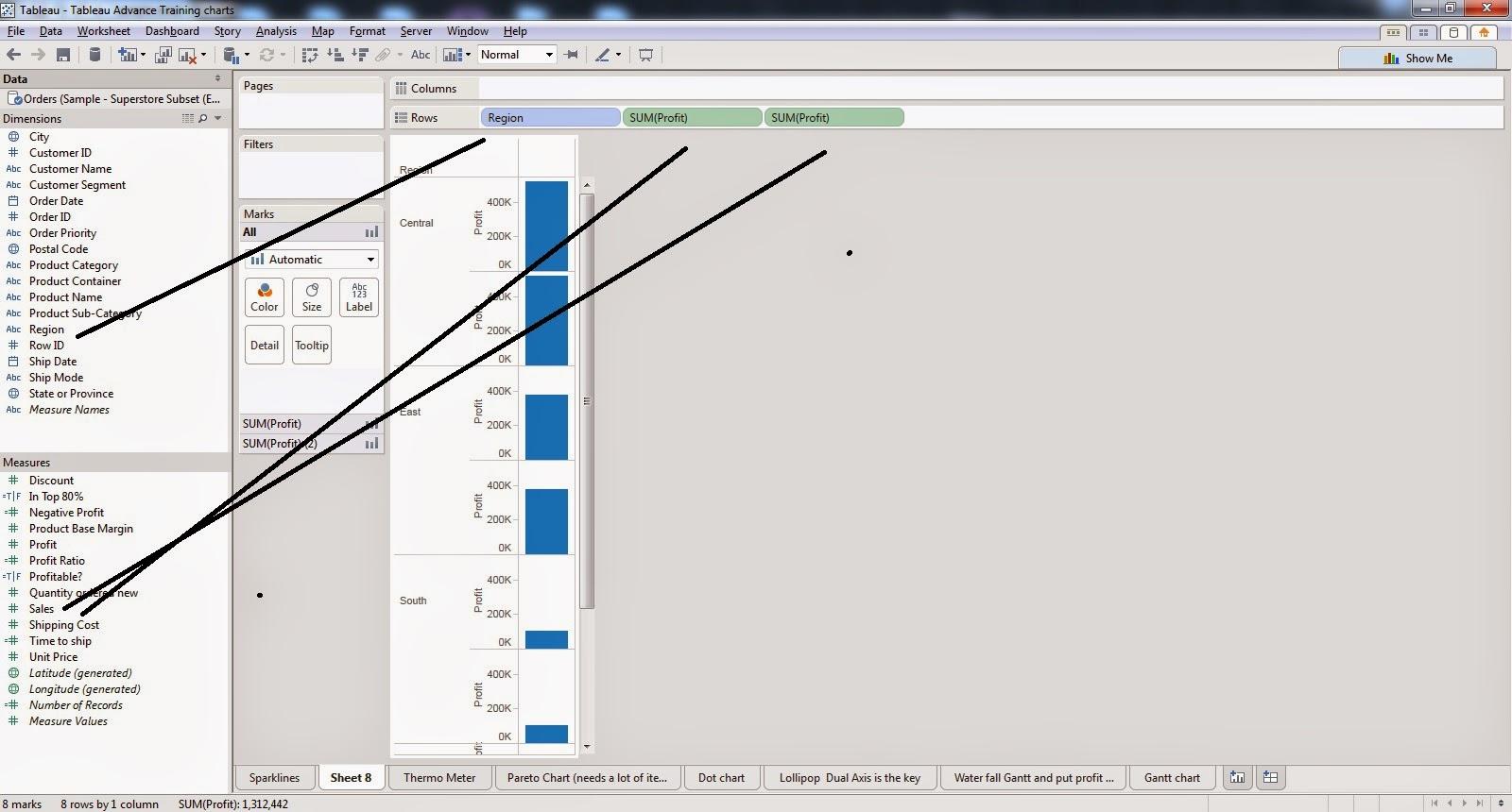 Tableau Visualization