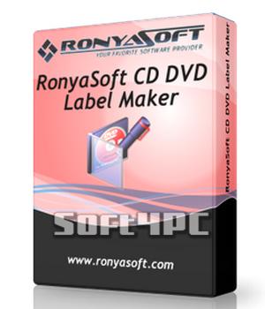 RonyaSoft CD DVD Label Maker 3.01.30 + Key