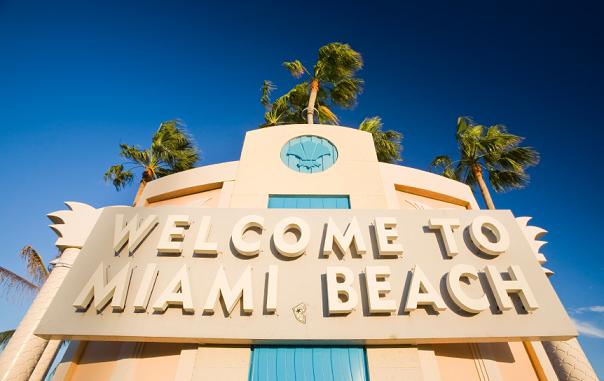 Entrada de Miami Beach