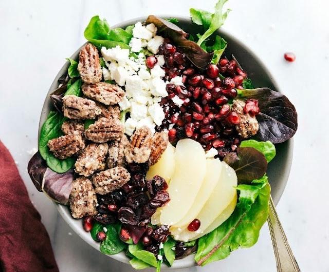 Pear Salad #vegetarian #salad