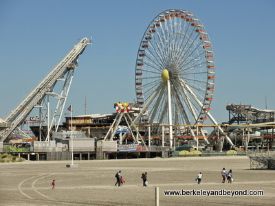 Wildwood Amusement Piers at Wildwood Boardwalk in North Wildwood, New Jersey