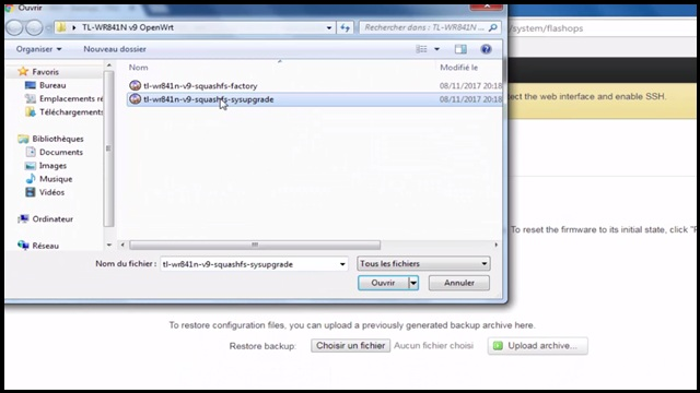 tp-link tl-wr841n openwrt sysupgrade upgrade