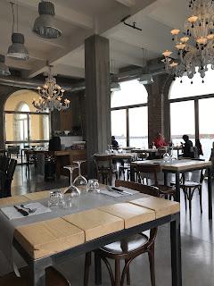 Salle de restaurant à Murano