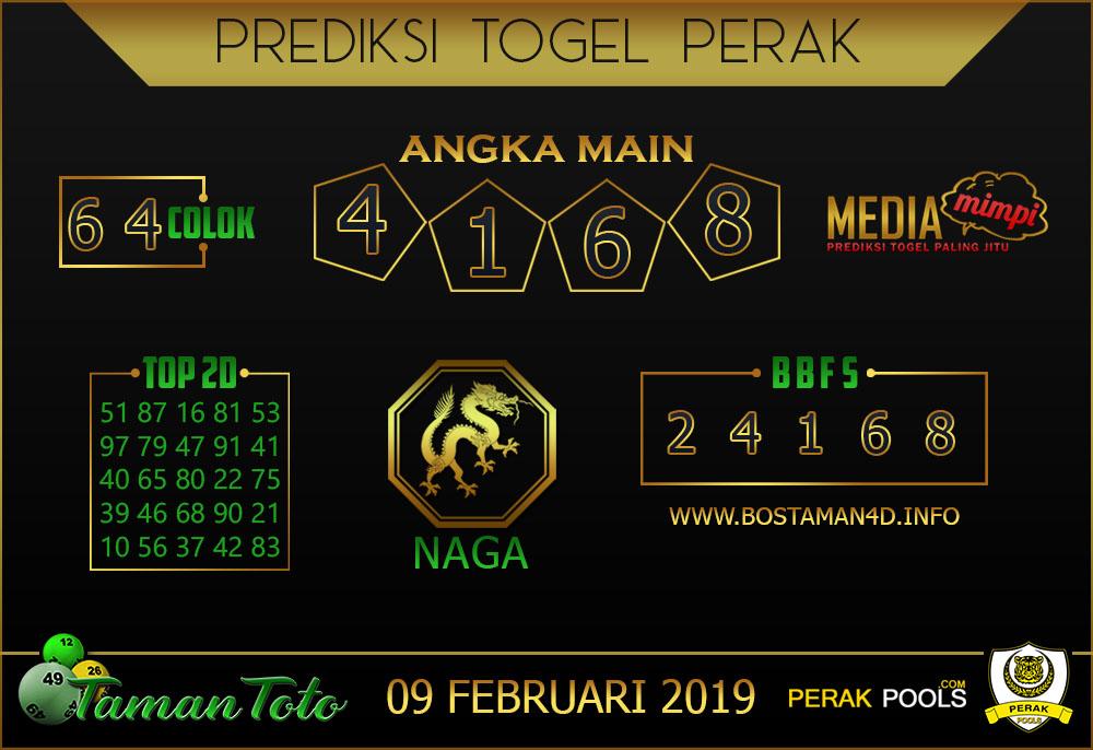 Prediksi Togel PERAK TAMAN TOTO 09 FEBRUARI 2019