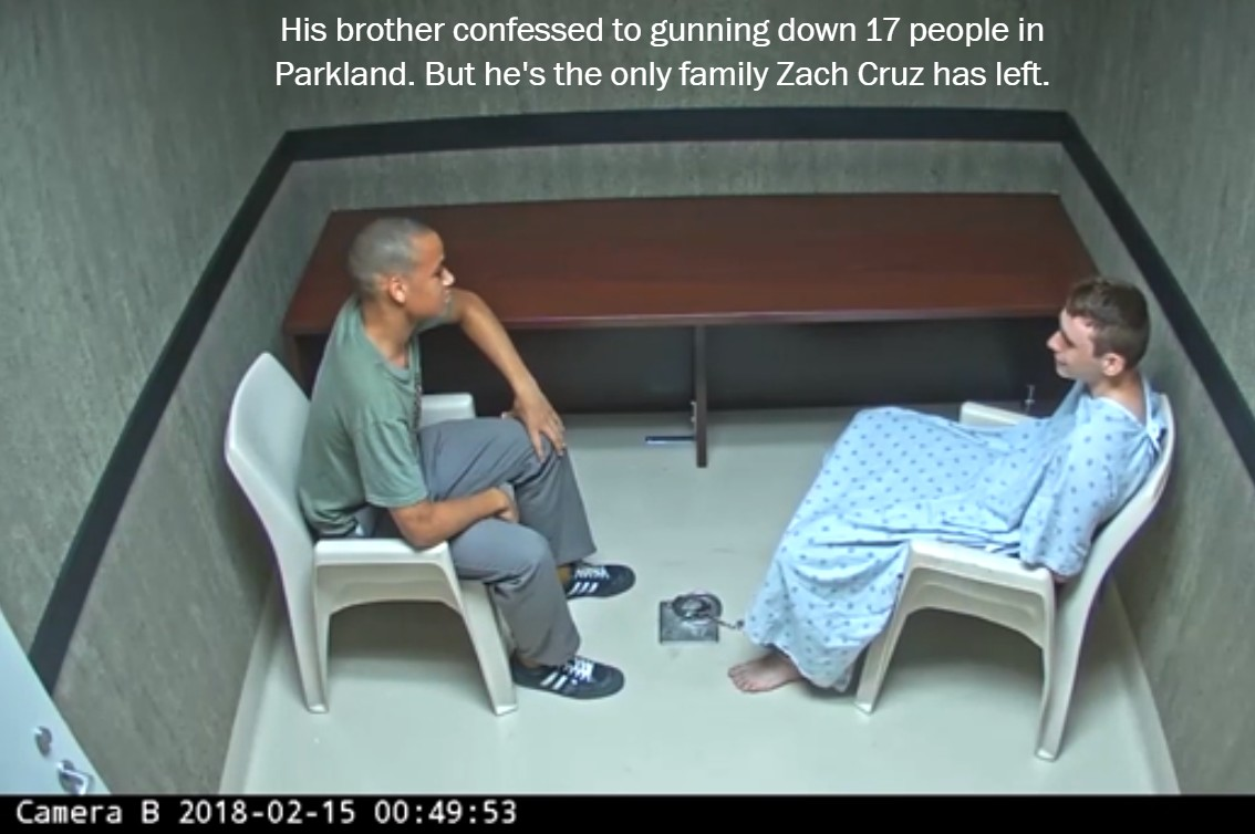 Why did you do this?' His brother confessed to gunning down