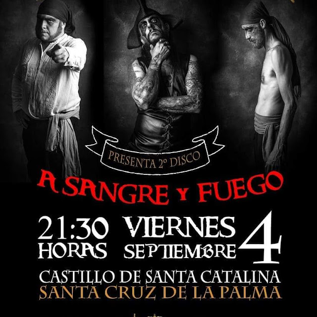 El grupo de rock Barbanegra presentará en el Castillo de Santa Catalina su segundo trabajo discográfico