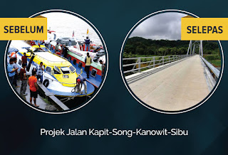 Najib patut dihargai kerana menghubungkan Kapit Ke Seluruh Sarawak - Masing