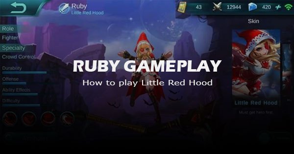 Mastering a Gem: How to Play Mobile Legend's New Hero Ruby