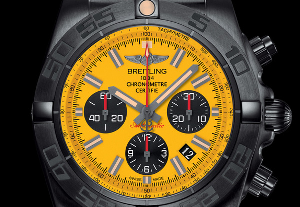 Breitling Chronomat 44 Blacksteel Special Edition Time