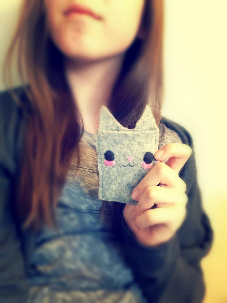 Cute DIY Cat Wallet