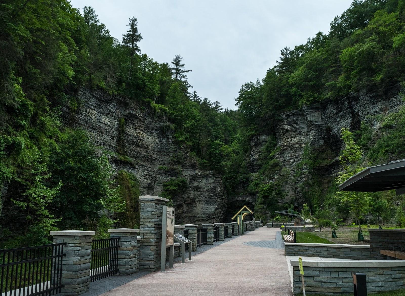 Watkins Glen State Park Trail