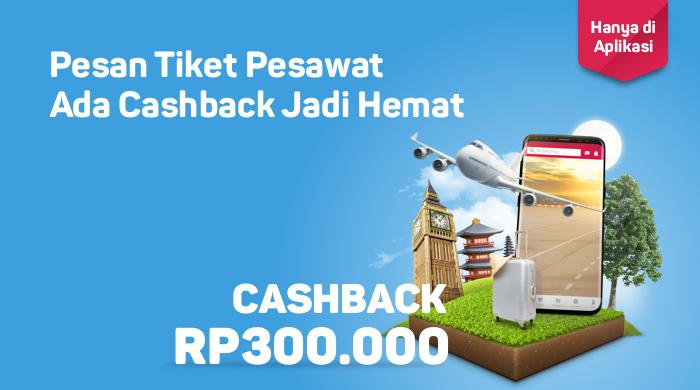 Bukalapak - Promo Beli TIket Pesawat Dapat Cashback s.d 500 Ribu (s.d 31 Juli 2018)