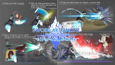 Sword Art Online: MD - Controls, Elements and Weapon Types
