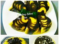 Resep Pudding Zebra Unik