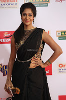 Sindhu looks fabulous in Black Saree designer choli at Mirchi Music Awards South 2017 ~  Exclusive Celebrities Galleries 021.JPG